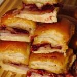 Leftover Holiday Ham Baked Sliders