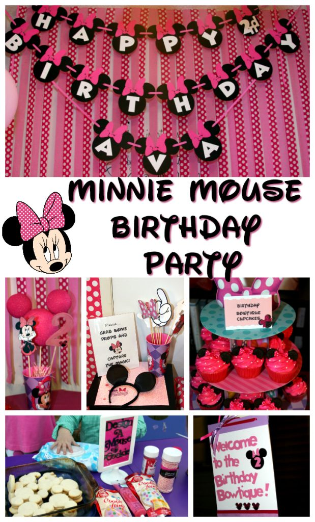 Ava S Minnie Mouse Birthday Party For The Love Of Food