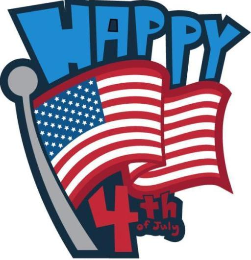 American Flag Clipart 4th of July