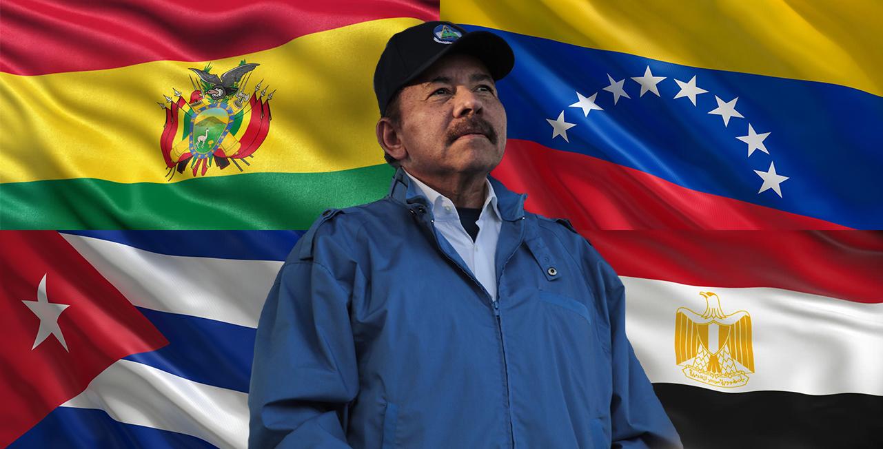 Las dictaduras que defienden a Ortega