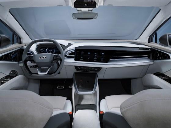 Έννοια Audi Q4 Sportback e-tron