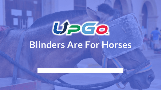 Blinders Are For Horses