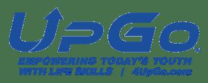 UpGo logo blue png