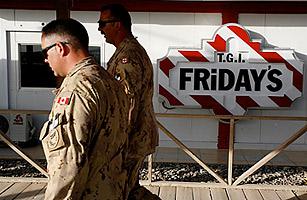 Kandahar Air Base Expands, Adds Cafes, Sports Fields