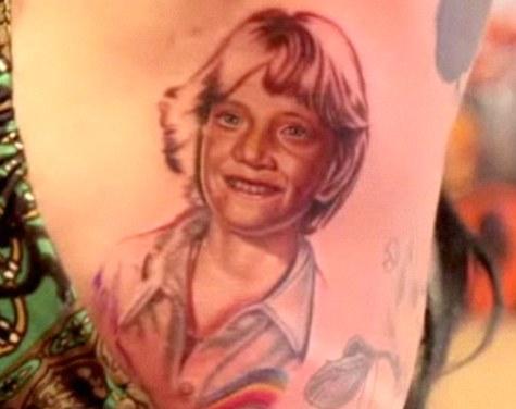 Kat Von D Removing Tattooed Image Of Super Creep Ex Boyfriend