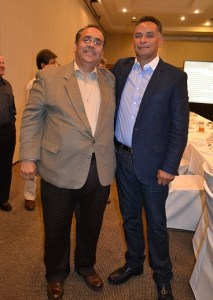 Adrian Olea (izquierda) y Wenceslao Martínez (Foto: Cortesía).