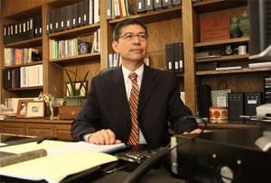 El rector Fernando León (Foto: Cetys).