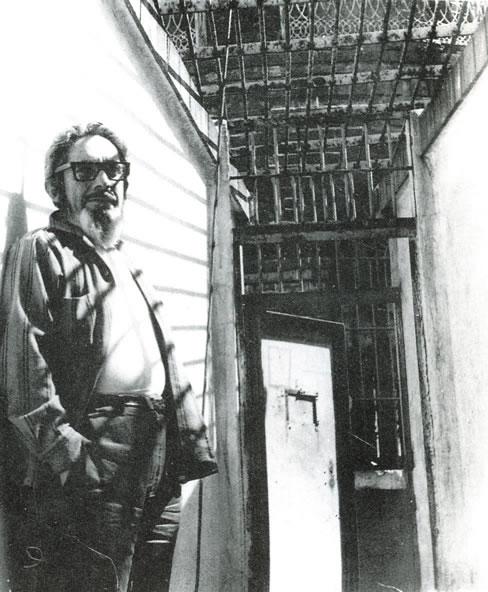 José Revueltas preso en Lecumberri por el régimen priísta
