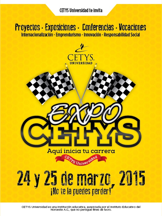 CETYS EXPO 2015 CARTEL