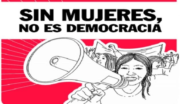 MUJERES DEMOCRACIA