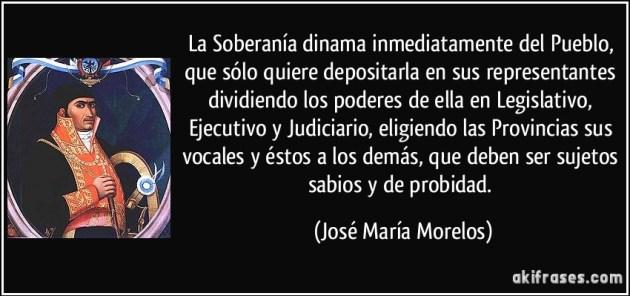MORELOS SOBERANIA PUEBLO