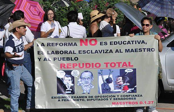 REFORMA EDUCATIVA RECHAZO