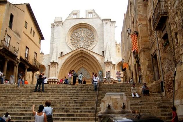 La catedral de Tarragona (Foto: Hizpania)