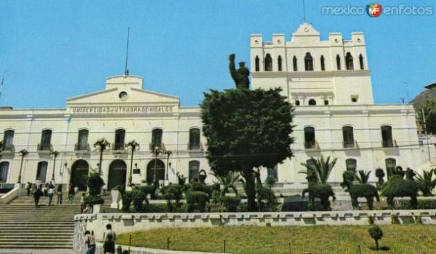 Edificio que alberga la rectoría de la UAEH (Foto: cortesía)