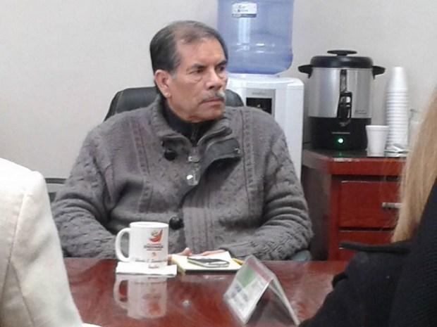 El regidor Gilberto Sánchez: Hay dignidad, dice (Foto: cortesía).