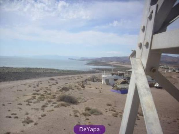 Por años, las playas arenosas del municipio de Ensenada en el Mar de Cortez y el Pacífico son utilizadas por naturistas locales y extranjeros. En la gráfica una parte de la playa Puertecitos (Foto: cortesía)