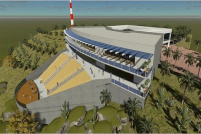 Proyecto arquitectónico del Centro de Artes del poblado Todos Santos, Baja California Sur (Imagen: bcs noticias).