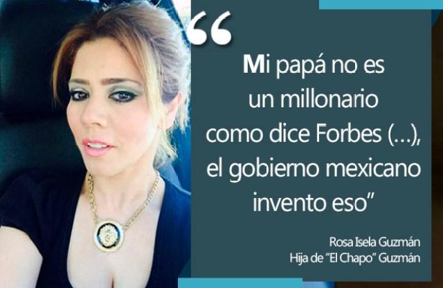 CHAPO HIJA NO ES MILLONARIO