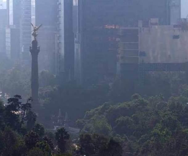 Contaminación en el Paseo de La Reforma, en la ciudad de México (Foto: OEM).