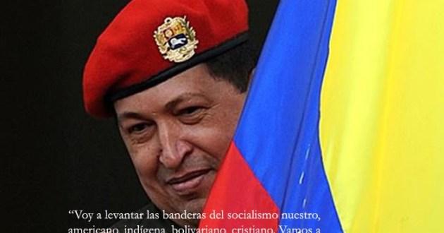 HUGO CHAVEZ BANDERA VENEZUELA