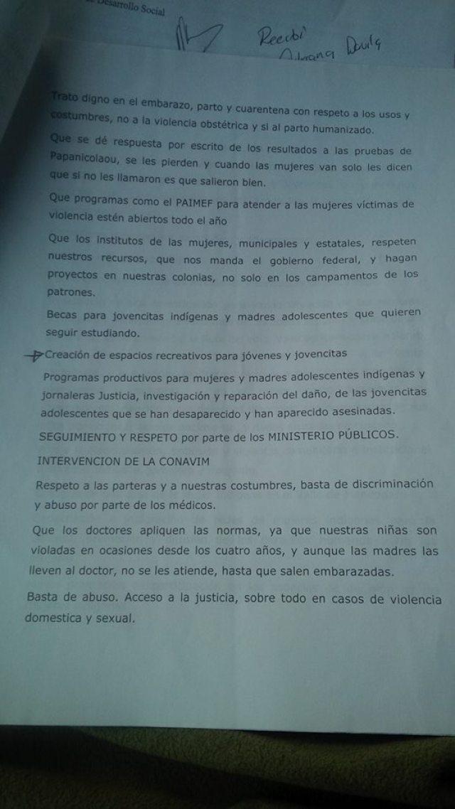 LUCILA HRDZ PETICION 2