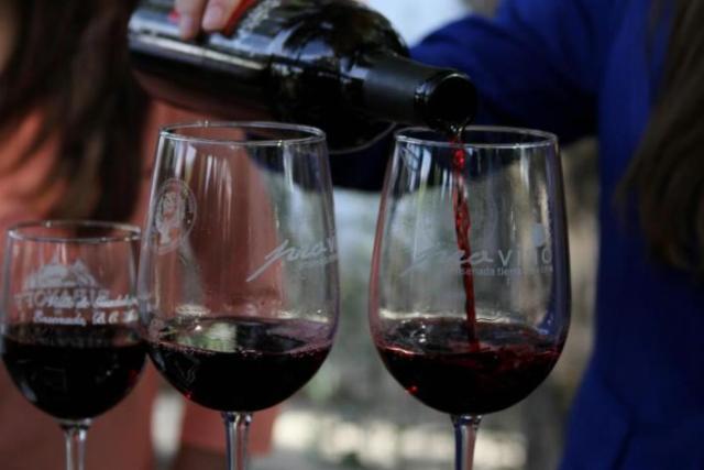 En una de las catas de vino (Foto: UABC).