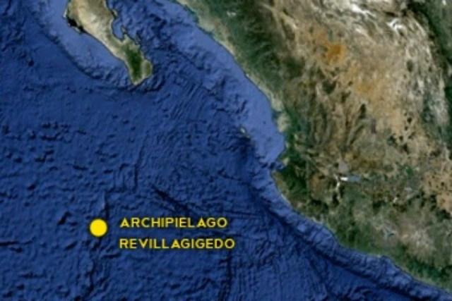 ARCHIPIELAGO REVILLAGIGEDO UBICACION
