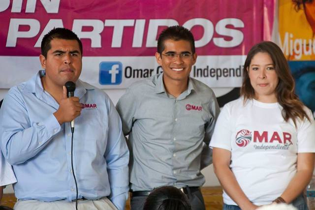 Cristian Vázquez junto a Omar García (Foto: Cortesía).