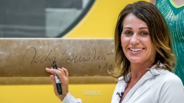 El año pasado Nadia regresó al centro de gimnasia olímpica en Montreal, Canadá, donde arrancó su leyenda (Internet).