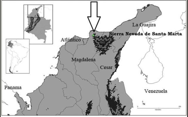 TARANTULA MARQUEZ MAPA UBICACION