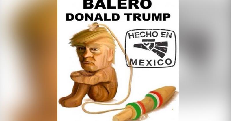 DONALD TRUMP BALERO