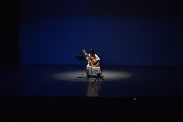 Marina Tomel deleitó a los presentes con su virtuosismo