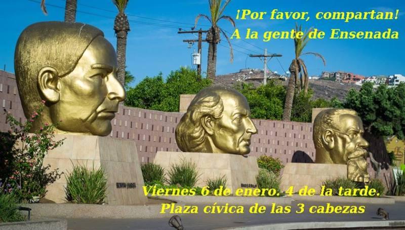 La invitación de Célula 686 del Congreso Nacional Ciudadano a Ensenada (Cortesía)