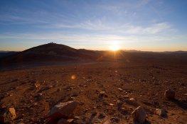 El Desierto de Atacama cubre más de 1000 kilómetros de tierra
