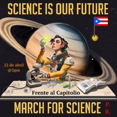 Convocatoria a la Marcha por la Ciencia en Puerto Rico