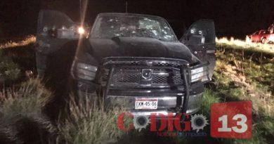 Sicarios usaron vehículo de la Fiscalía de Chihuahua en enfrentamiento armado (+Video)