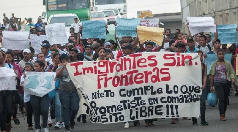 Arriban centroamericanos a Tijuana, ciudad con la policía más abusiva de migrantes en México (Videos)