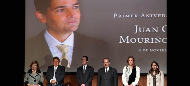 El presidente Felipe Calderón Hinojosa conmemora el primer