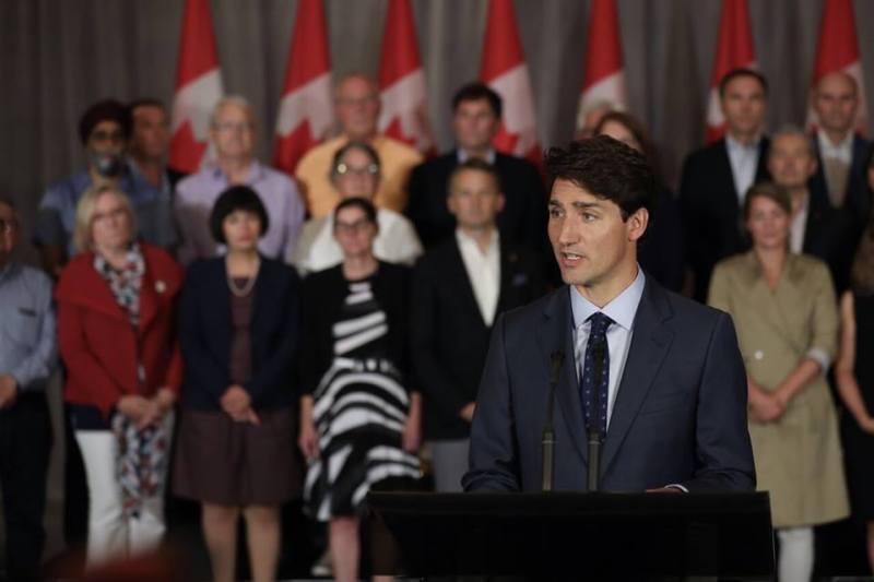 Durante la celebración del Día Internacional de la Mujer, en conferencia de prensa, el Primer Ministro de Canadá, Justin Trudeau defendió el acceso de las mujeres al aborto.  (MundoALV)