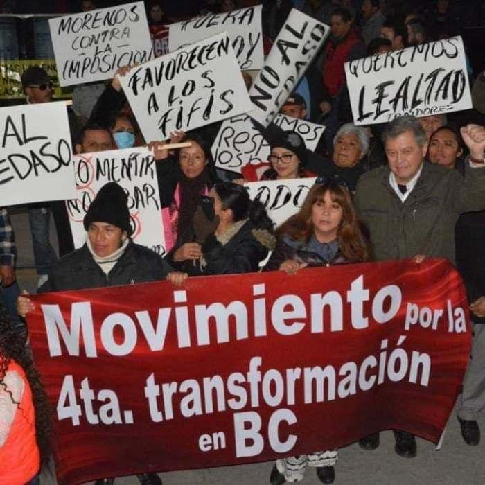 Crean el MAS 4T en medio de protestas por la imposición de candidatos en Morena. Foto: facebook