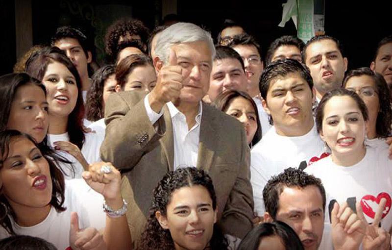 Los jóvenes votaron mayoritariamente por AMLO, quieren justicia. Foto: Cuartoscuro