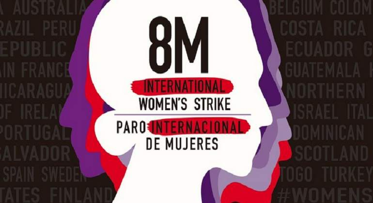Huelga mundial de mujeres el 8 de marzo de 2020, convocan las feministas de 36 países.