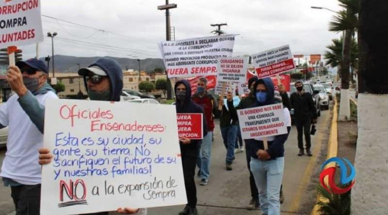 El gobierno de Ensenada canceló recursos de Sempra para obra pública en San Quintín