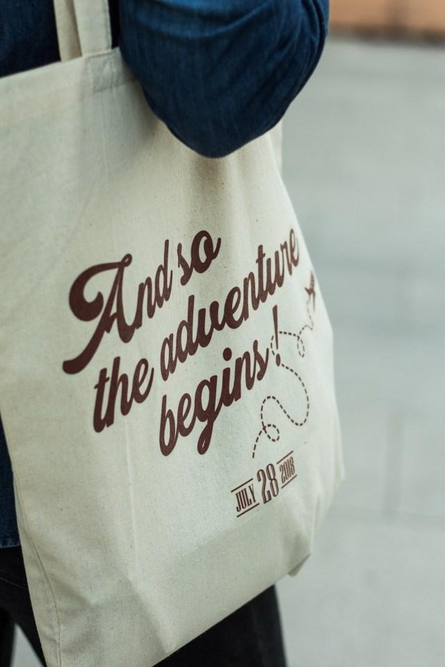 Sacoșă personalizată (Tote bag)