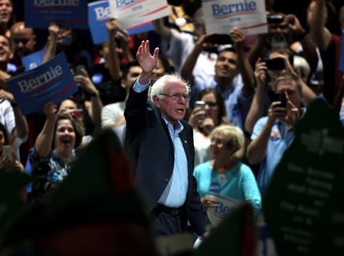 The Attempt By the Media To Downplay the Bernie Sanders Campaign