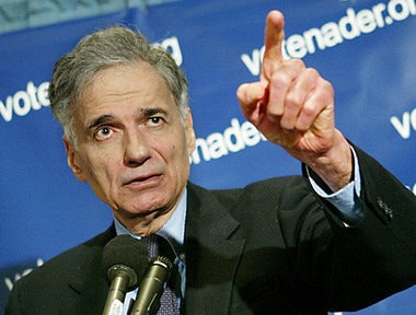 Ralph Nader Still Tells It Like It Is