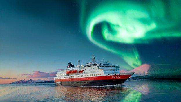 Hurtigruten alla caccia dell'Aurora Boreale
