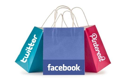 Facebook, twitter e pinterest alimentano il social commerce