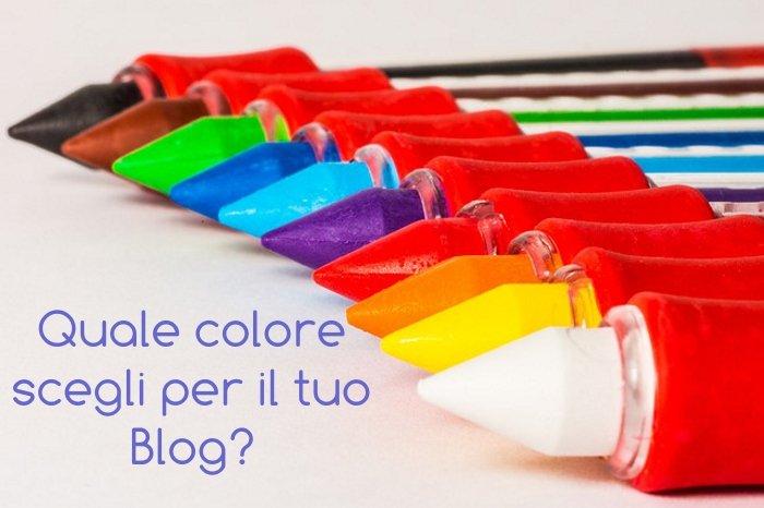Creare un blog o un sito: quali colori scegliere?