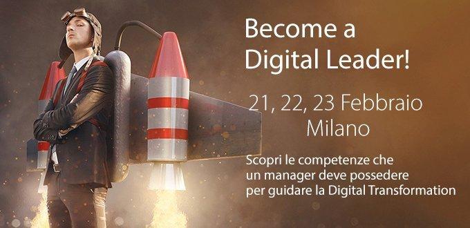 Evento Become a Digital Leader – II edizione